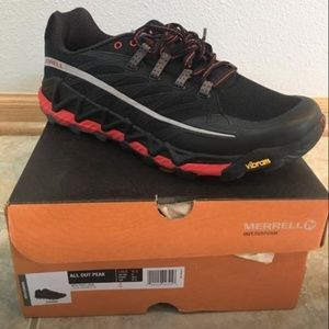 top-rated original release date: big collection Merrell All Out Peak Trail Running Shoes NWT